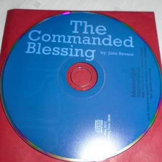 Charity Sale! The Commanded Blessing by John Bevere Audio Digital CD