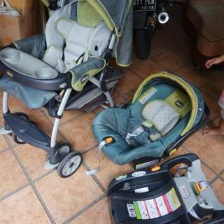 Stroller carseat chicco