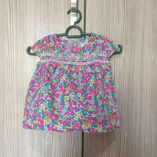 Carters Flowery Blouse
