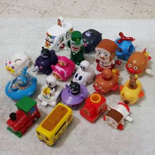 Anpanman toy merchandise - LOT