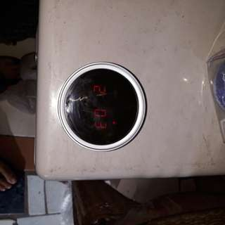 Digital clock with alarm magnetic and stand included
