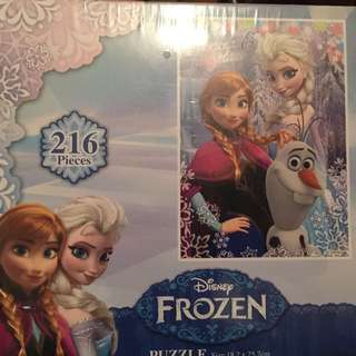 放 全新冰雪奇緣迪士尼 216塊 Disney Puzzle frozen
