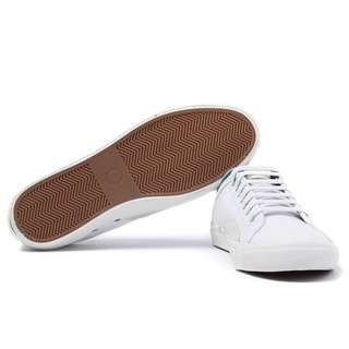 Fred Perry Kendrick White Leather Shoes
