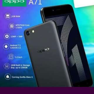 Oppo A71 bisa kredit, proses cepat hanya 3mnt