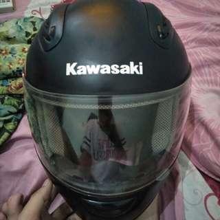 jual helm fullface kawasaki ninja