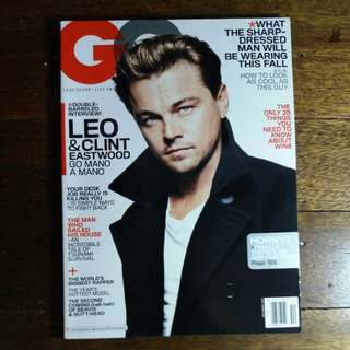 Leonardo Dicaprio | GQ October 20011