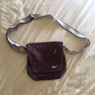 Nike purple sling bag