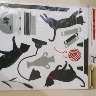 Wall sticker neko