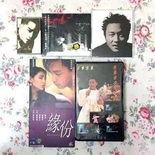 Leslie 張國榮1986-2000'經典音樂專輯及電影