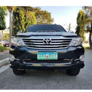 Toyota Fortuner 2013 G Automatic Diesel