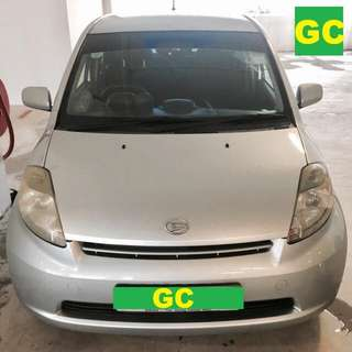Daihatsu Sirion Manual CHEAPEST RENT AVAILABLE FOR Grab/Uber USE