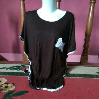 blouse brown
