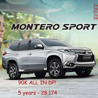 90K All in 2017 Montero GLX manual