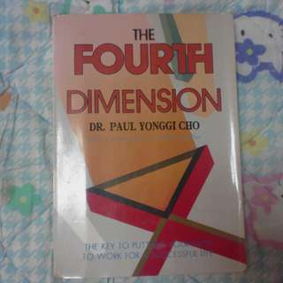 The fourth dimension by dr paul cho yonggi