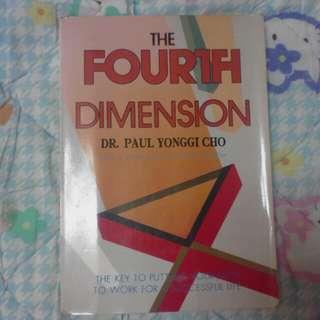 The fourth dimension by dr paul cho yonggi