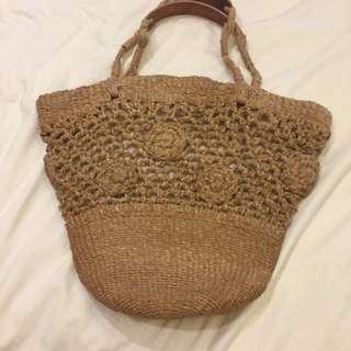 Beach shoulder bag