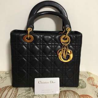 100%real 90%new Christian Dior lady bag vintage
