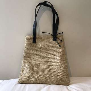 Tony Bianco Straw Beach Bag