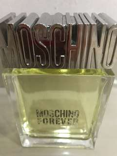 Moschino after shave