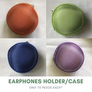 Earphones Holder