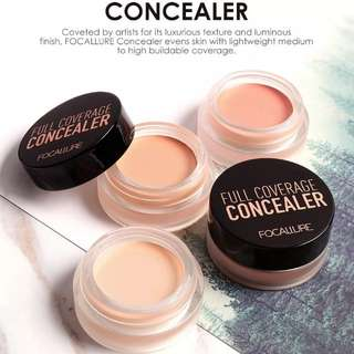 Authentic Focallure Full Cover Concealer [ Light Cream ]