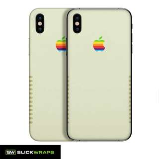 Slickwraps Apple Retro Skins For IPhone X