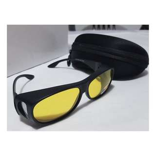 Yellow Night Vision Polarized Sunglasses Glasses NIGHT VISION, STYLISH, DURABLE, CLEAR AND COMFORTABLE-