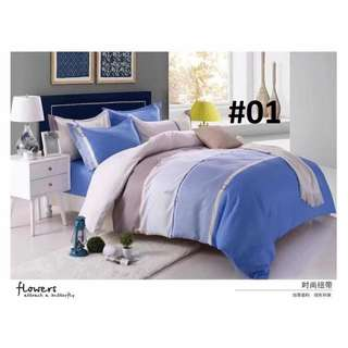 4in1 COTTON BED SHEET SET ,,
