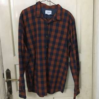 PULL AND BEAR FLANNEL