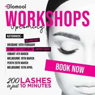 HOW-TO Apply 200 Lashes in 10 minutes - Nationwide Worklshops