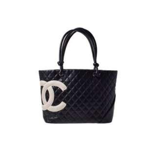 Chanel cambon tote large handbag 手袋