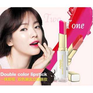 Two-tone (Double Color) lipstick Buy 1 Take 1‼️
