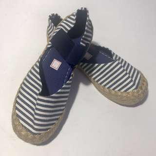 Nautical Stripes Espadrilles/ Summer Flats for Trendy, Young Girls