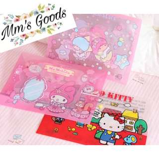 ❤️超可愛Hello Kitty/ Melody/ Little Twins Star File❤️