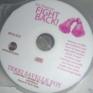 Charity Sale! It's time to Fight Back by Terri Savelle Foy Audio Digital CD