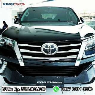 TOYOTA ALL NEW FORTUNER 4x2 2.4 VRZ A/T DSL.