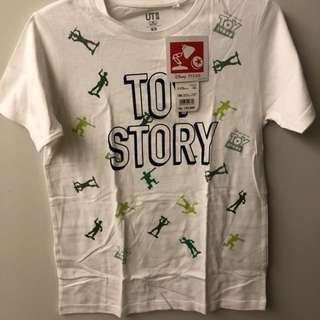 UNIQLO toy story tshirt