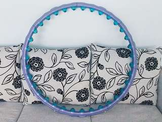 Big-ball massage hoop