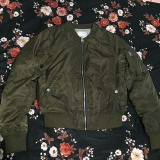 Pull and Bear Bomber Jacket