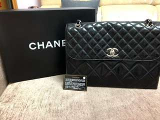 Chanel jumbo chain bag