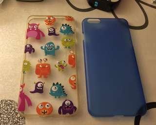 iPhone 6plus 3D case set of 2