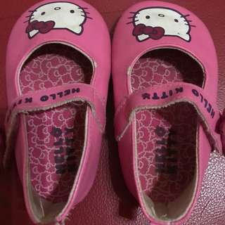 Authentic Hello Kitty Shoes 9-16 months