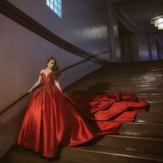 FOR RENT Designer Ball Gown by Wendell Quisido