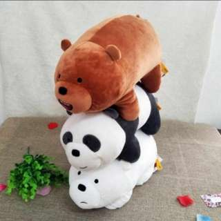 We Bare Bears Stacking Plush