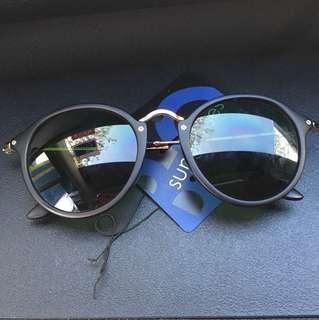 Sunglasses shades cermin mata hitam rayban