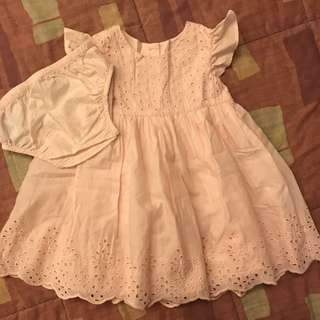 Mothercare Eyelet dress 6-9mos
