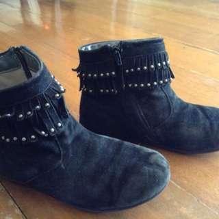 florsheim boots with stud