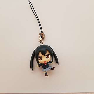 K-ON! Azusa Nakano Chibi Figurine with Strap