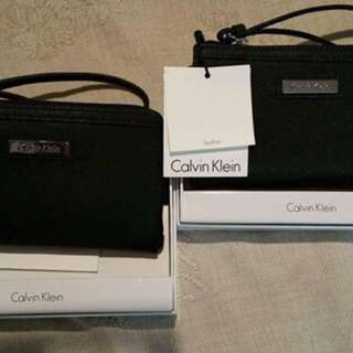 Calvin Klein Wristlet (Authentic)