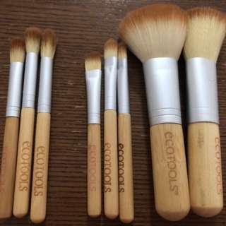 Ecotools concealer and eye shadow brushes